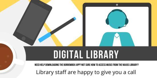 _Digital library help twitter